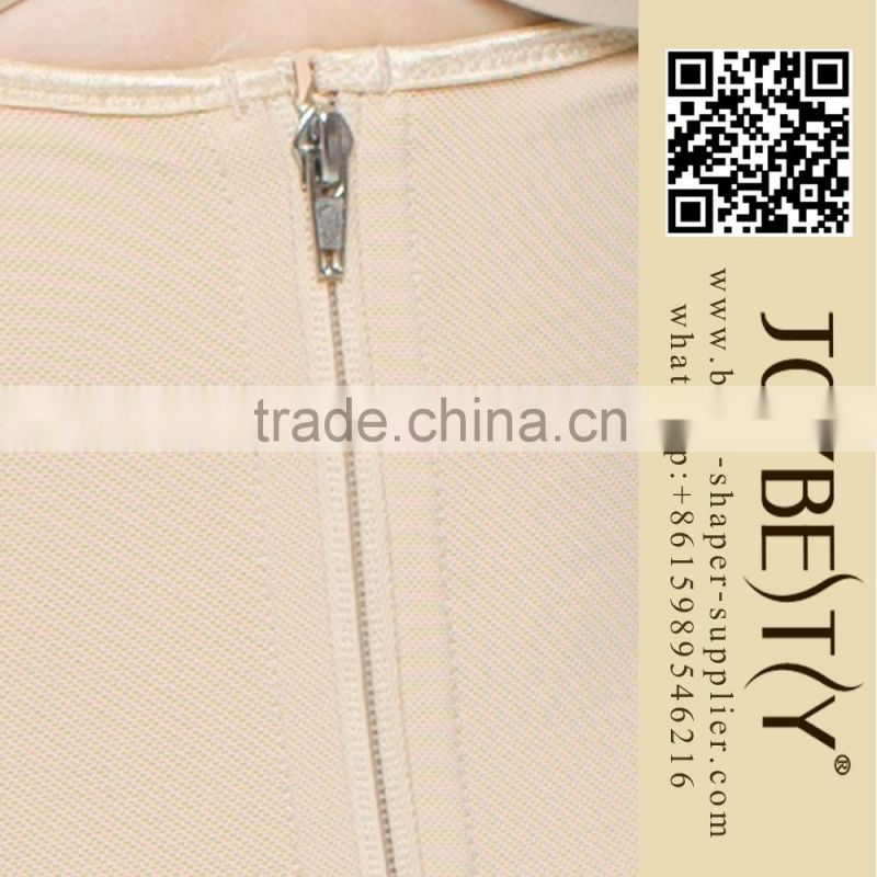 New arrival high quality full body sexy shapewear thigh length shaper butt lifter with straps 5101-H