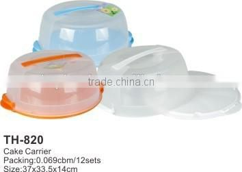Hot Sale Clear Plastic Cake Box,/Plastic Cake CarrierrTH-820