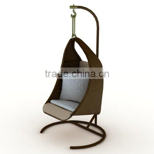 Outdoor PE Rattan/Wicker Swing