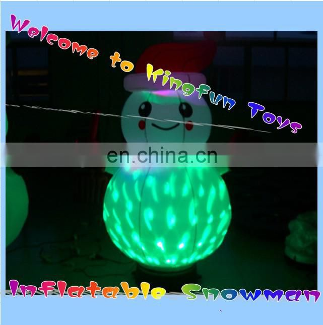 New year inflatable snow bubble decorations/snow bubble tent/ inflatable snow globe