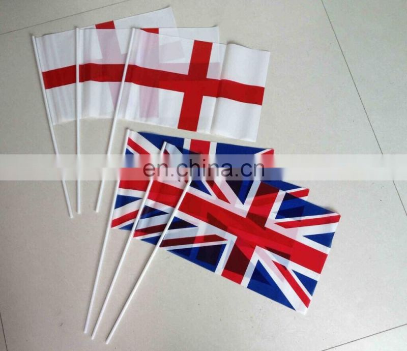 national country tope sell custom polyester hand flag