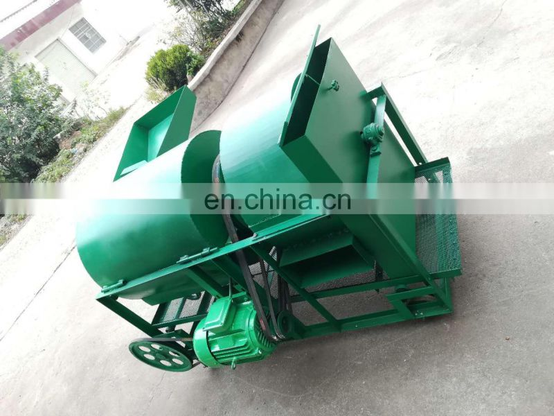 Commercial small high -yield oak peeling machine