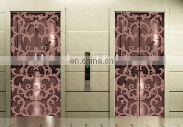 Amazon wholesaler etched PVD color coating stainless steel sheet