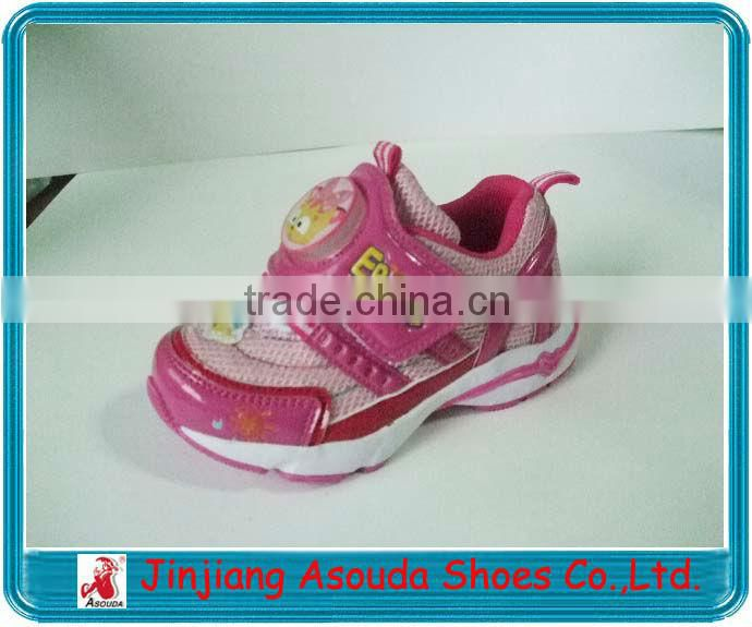 2016 popular cute children kid shoes