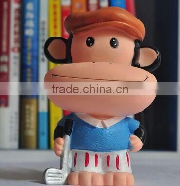 cute monkey vinyl toy,pvc animal vinyl toys,cute custom vinyl toys for decoration