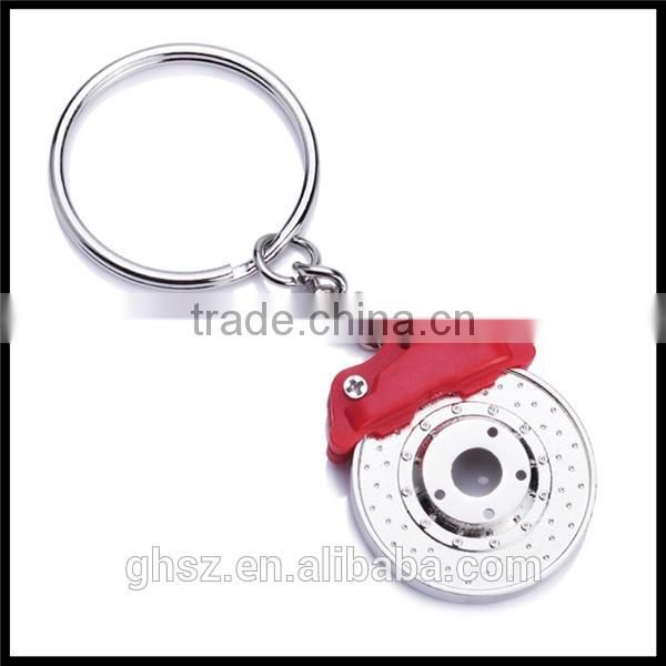 Low moq cheap metal motorcycle shape keyrings key chain factory