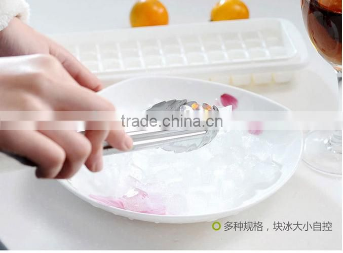 hot sale Creative Square Shape Silicone Fruit Ice Cube Maker Bar Kitchen Accessories Ice Cube Mold