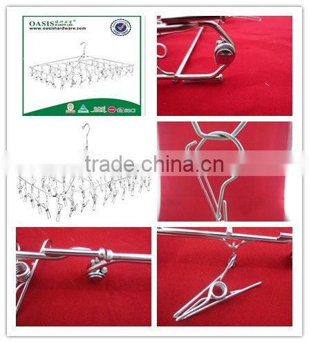 clothing hanger--stainless steel--48hangers