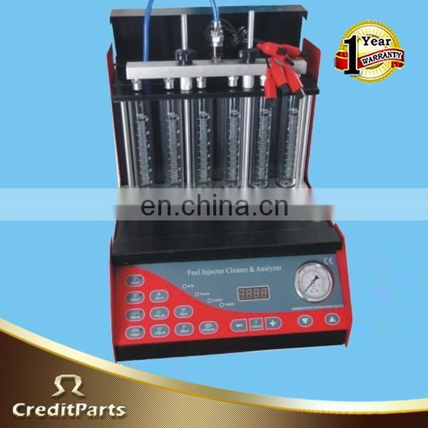 CRAZY HOT SALES 6 Cylinder Split-Type Ultrasonic Fuel Injector Cleaning Machine Test Bench FIT-103T