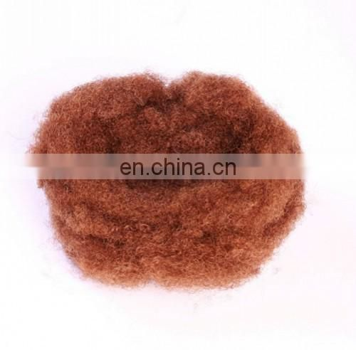 China Supplier 100% Virgin Remy Donor Hair Bleached Tangle Free Kinky Twist Hair Bulk