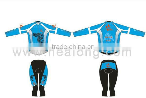 Breathable Customied Sublimated Men's Cycle Kits