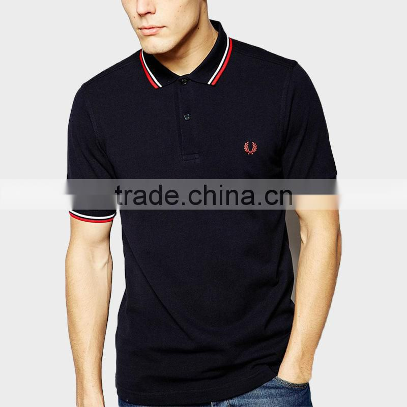 2015 short sleeve polo shirt for men uniform polo shirt