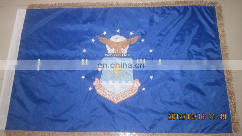 custom embroidery nylon flag
