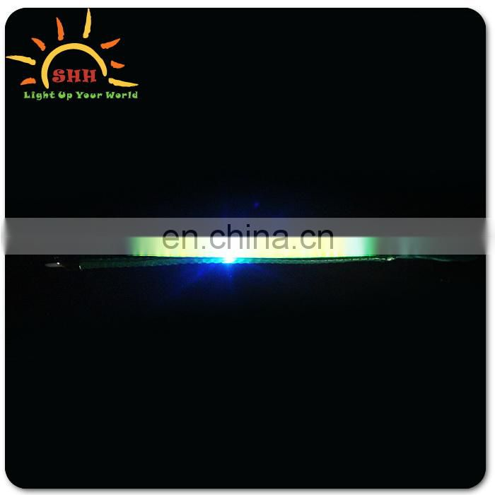 LED light up plastic braid with multicolor for Christmas party