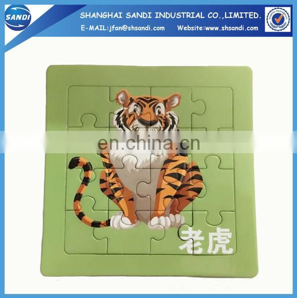 Promotional paper cardboard custom jigsaw puzzle