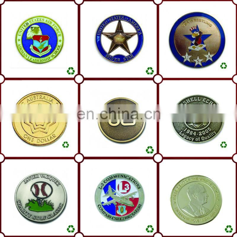 custom cheap metal stainless steel coin