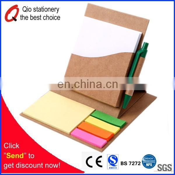Recycled Notepad with Memo notebook stationery set for promotion with your designed logo