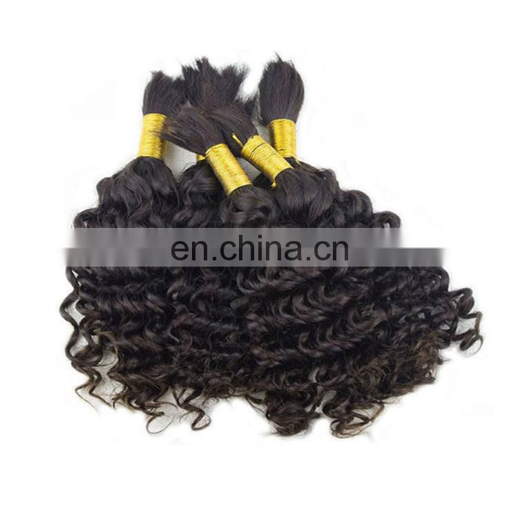 Wholesale bulk hair for wig making, High Quality Brazilian Hair bulk hair extensions without weft