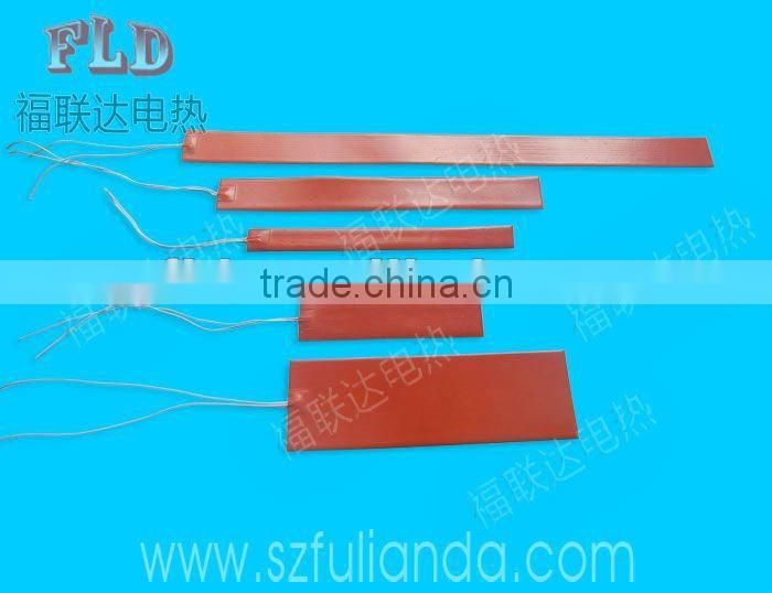 Customize 3.7v 5v 7.4v 9v 12v 24v 36v 48v 60v formed rod heaters with CE RoHS certification