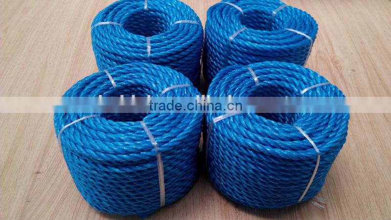 colorful pp twisted splitfilm rope excellent quality of PP ...