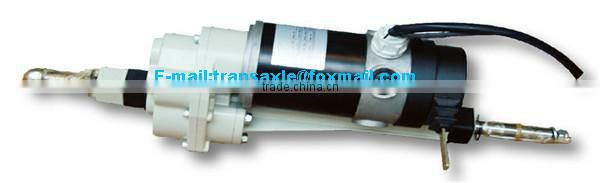 24v motor dc with rear axle for electric cars