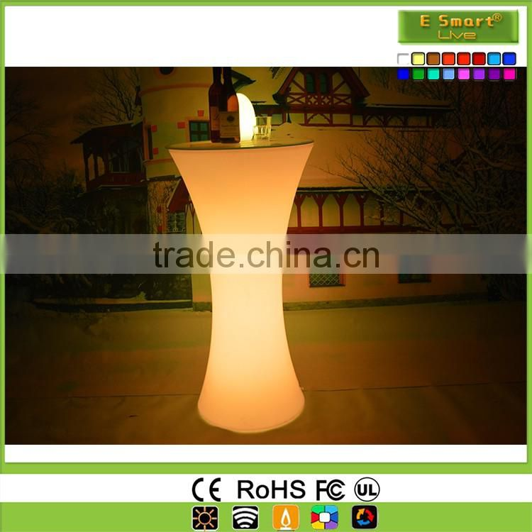Led Glass Light Bar Table,Led Wedding table Night Club DJ Table,Led Cube Table Peseur Side Table Led Table and Chair Set