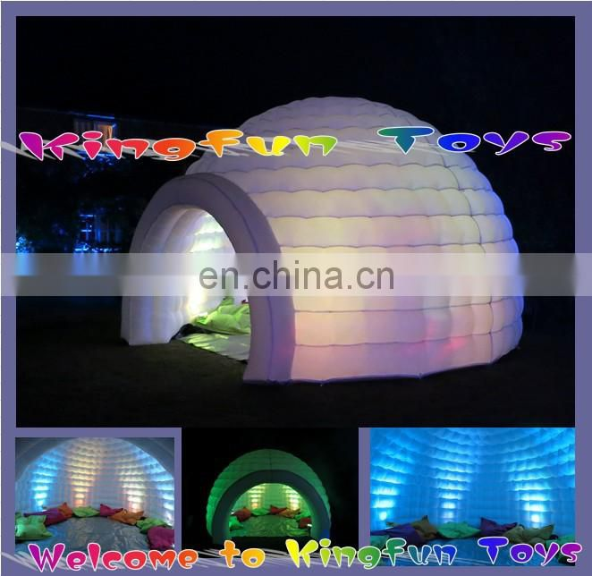 New design Inflatable portable tents for outside negotiation