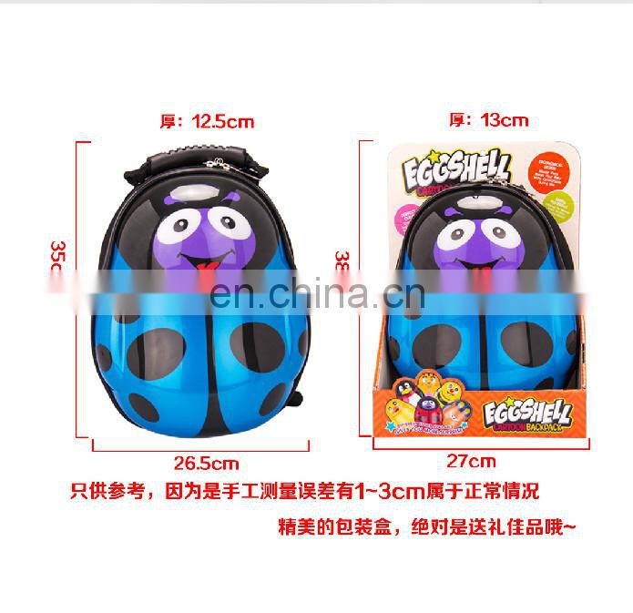 0-6 years old children backpack cute school backpack with good quality