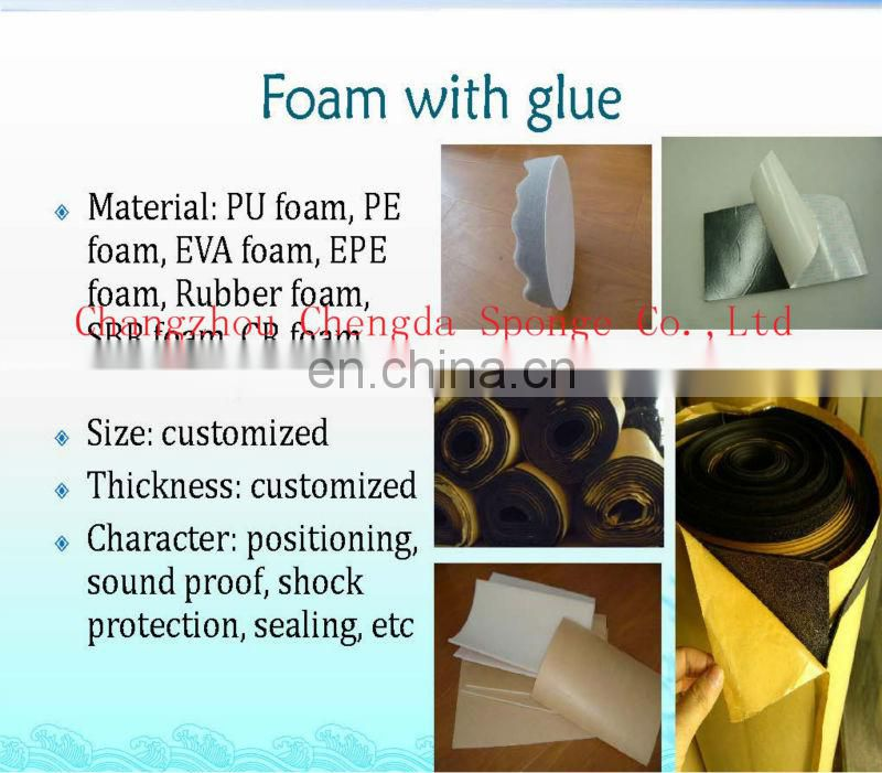 China factory directly sell adhesive foam dots, Colourful EPE Packaging FOAM sheet