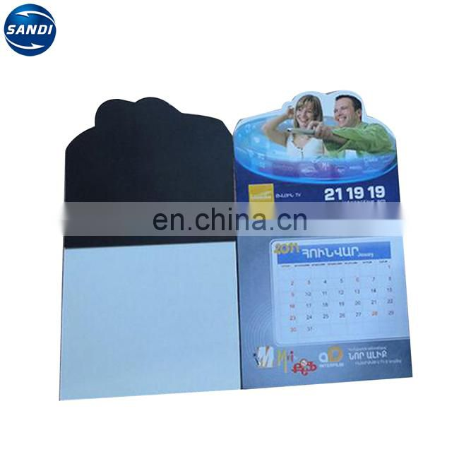 Promotional custom magnetic note pad