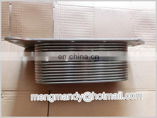 diesel engine L375 spare parts original aluminum oil cooler core 3943460