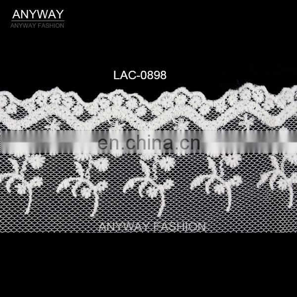 Competitive price lastest white stretch lace for women