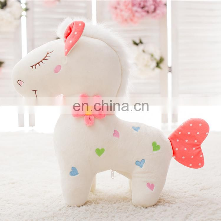 High Quality Lovely Plush Horse Toys Wholesale