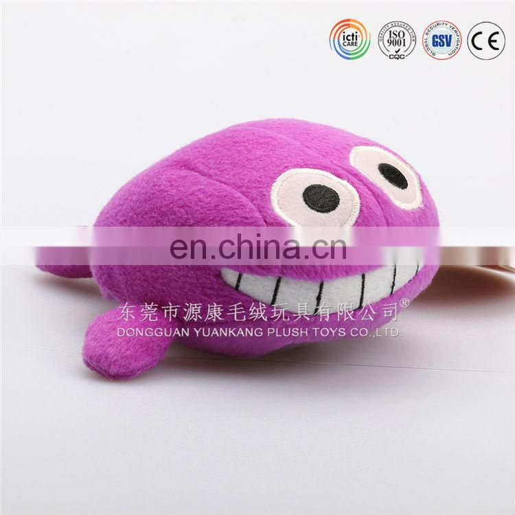 ICTI/ISO custom soft whale plush pillow made in China