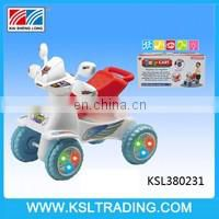 Novel design elephant plastic baby walker car shape for kids
