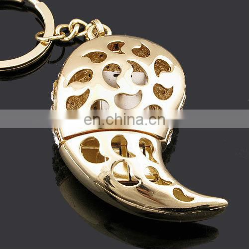 Zinc alloy customized key chain usb flash drive