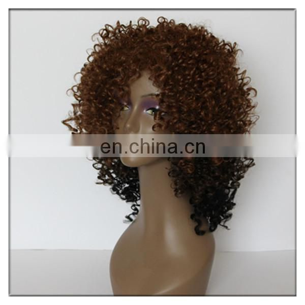 wholesale alibaba afro kinky curly hair extension and wig dye for synthetic hair wig curly wig for black women