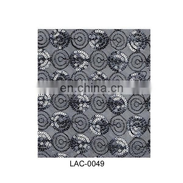 Factory price net lace;fabrics embroidered;african cord lace for evening dress