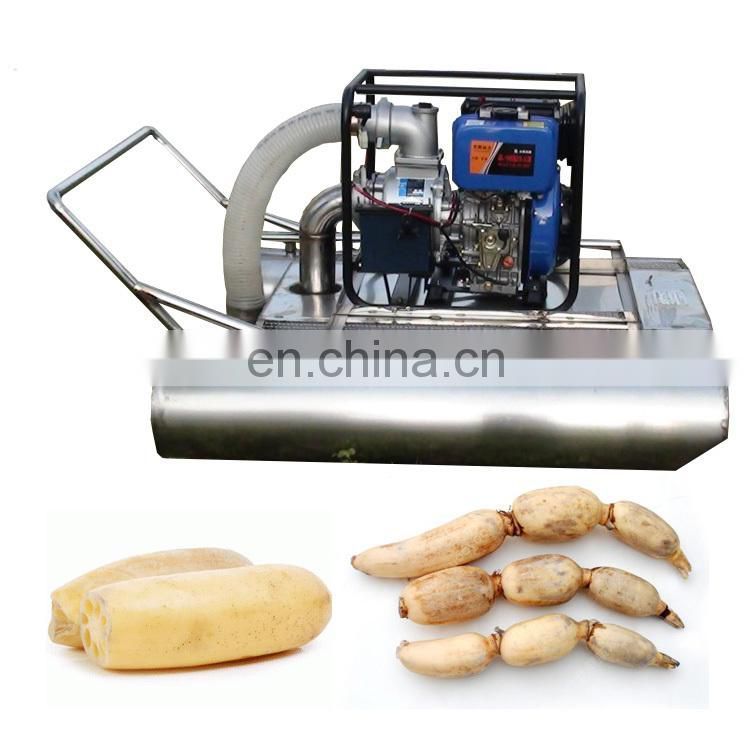 high-efficienct lotus root digger machine and lotus harvester machine Image