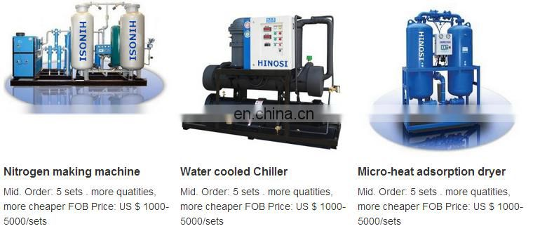 Favorable price with ISO9001 Standard HR-150AC 15Nm3/min refrigerated air dryer