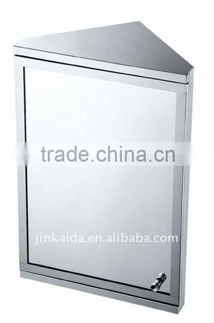 stainless steel mirror cabinet,corner cabinet,mirror cupboard 6651 single door