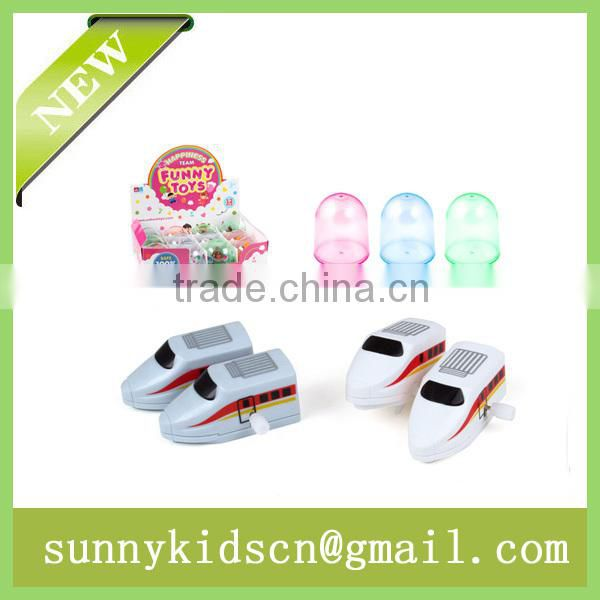 New wind up toy wind up train capsule toy