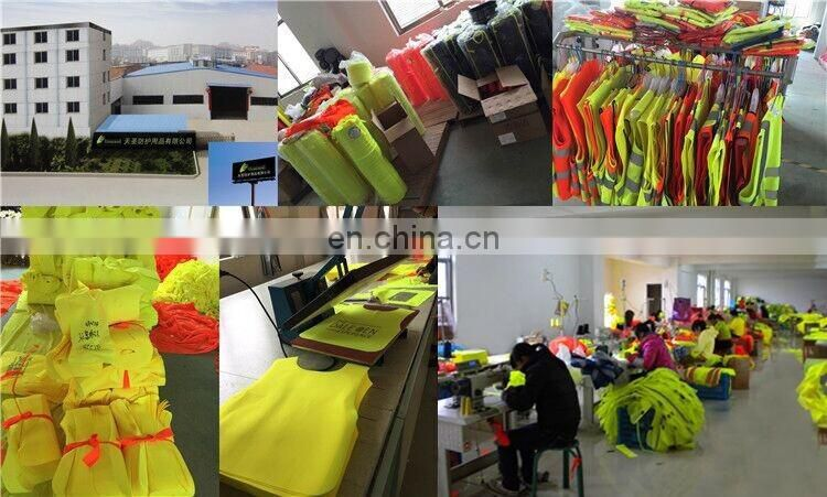 Anti-pilling warm 2017 road way high visibility safety jacket