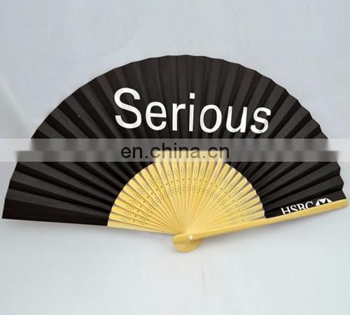 Both sides printed personalised custom made chinese folding hand fans