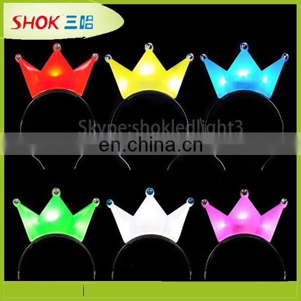 Deer Horn Halloween Fashion plastic headband