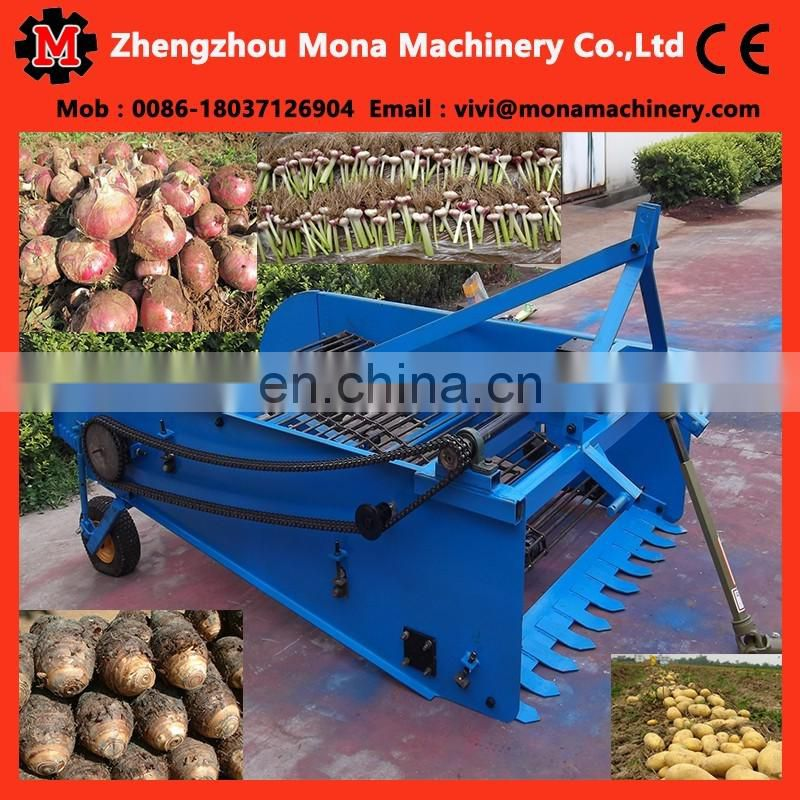 Easy using mini carrot/potato/garlic/onion harvester for hot sale