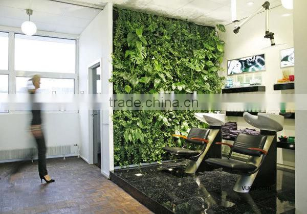 wall decore plastic plant/fake plant wall for indoor and outdoor decoration with factory price