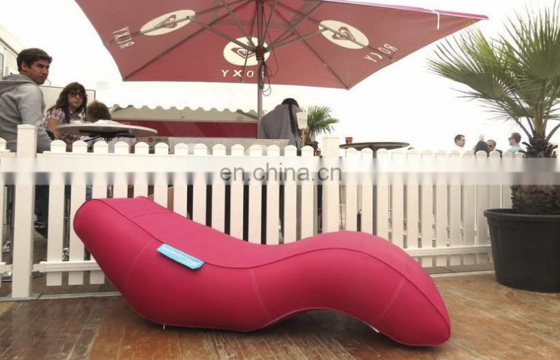 Inflatable S Shaped Leisure Deck Chair