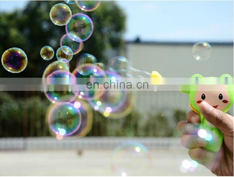 Summer toy cartoon style bubble gun soap bubble toy