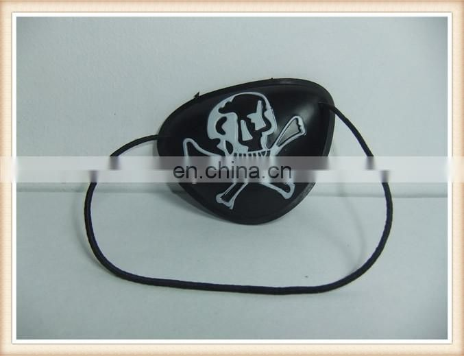 plastic promotion gift toy pirate eye patch